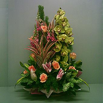 BA000001001 精緻盆花