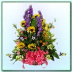 BA000001002 精緻盆花
