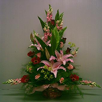 BA000101003 精緻盆花
