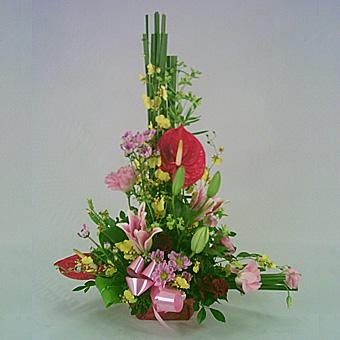 BA000103001 精緻盆花
