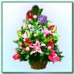 BA000501001 精緻盆花